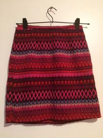 25067f41d Falda Pollera Tejido Crochet Primavera Verano - Polleras de Mujer en ...