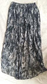 c741d755a6 Pollera De Gabardina Estampada - Polleras Cortas de Mujer Gris oscuro en  Mercado Libre Argentina