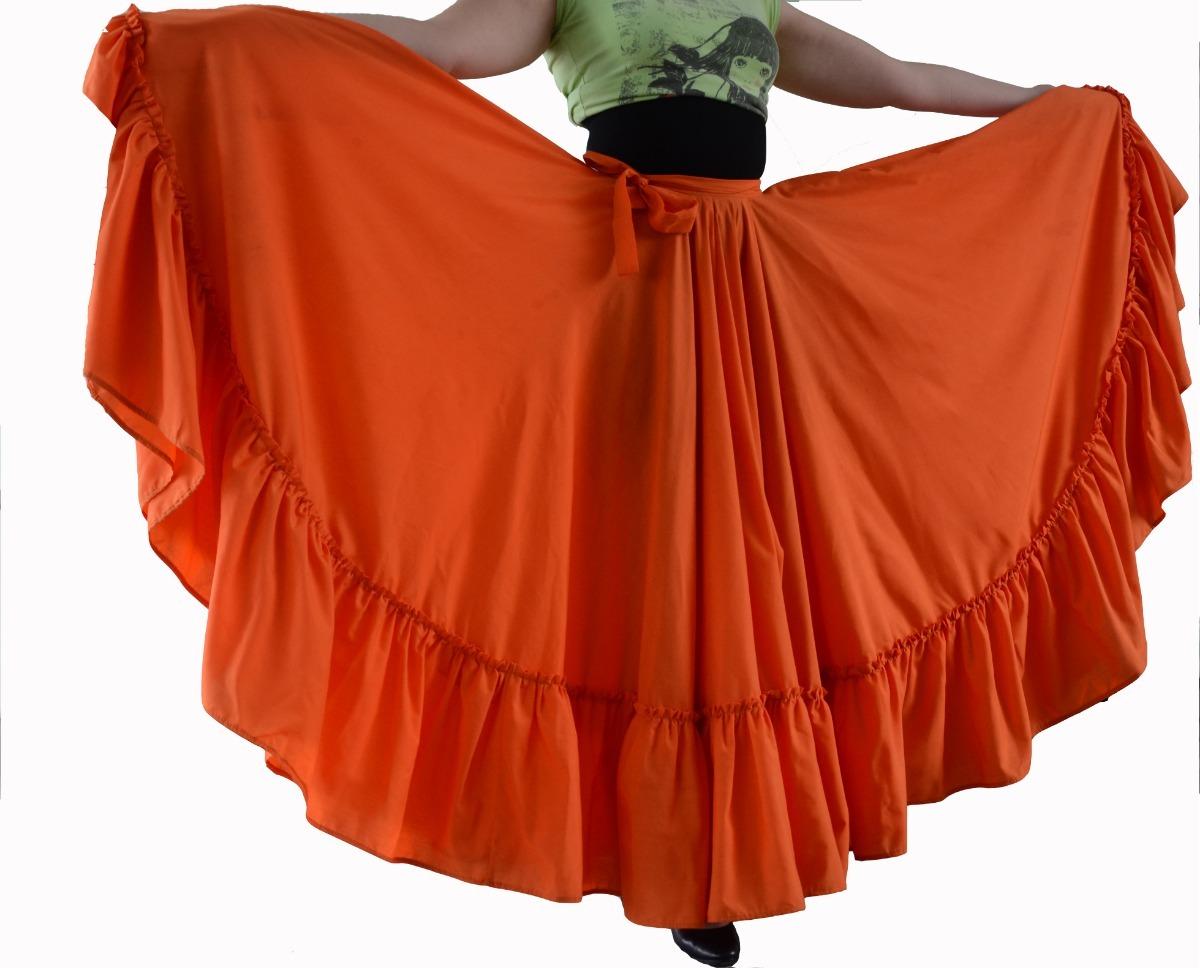 d4b91fadd Falda Profesional Danza Folclórica - Doble Vuelo