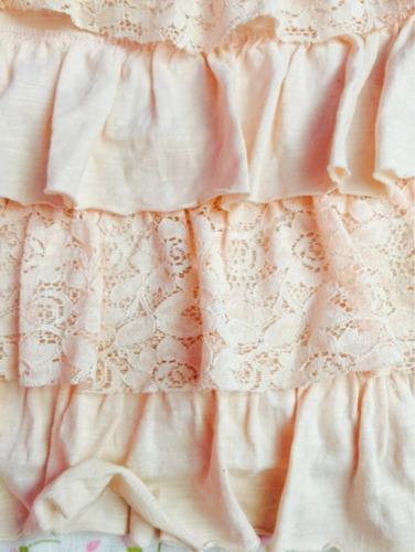 falda roda de encaje