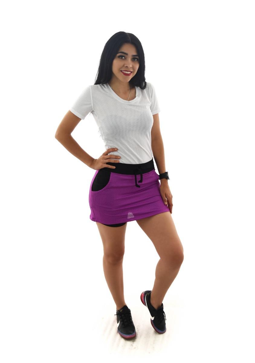 una gran variedad de modelos amplia selección fábrica Falda Short Deportivo Ropa Mujer Sport Correr Daaa10878