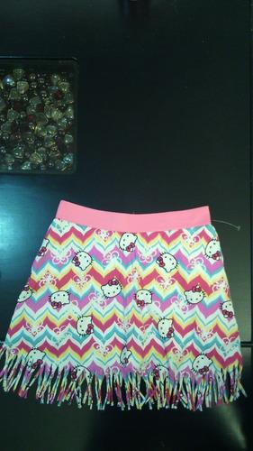 falda short hello kitty original, ropa, regalo, cumpleaños