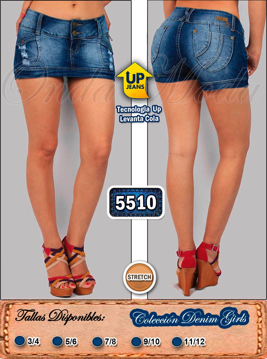 2cfc95130 falda short jean