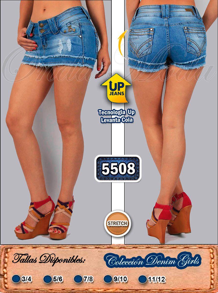 fd33c7308 falda short jeans ultima moda casual levanta cola dcto mayor. Cargando zoom.