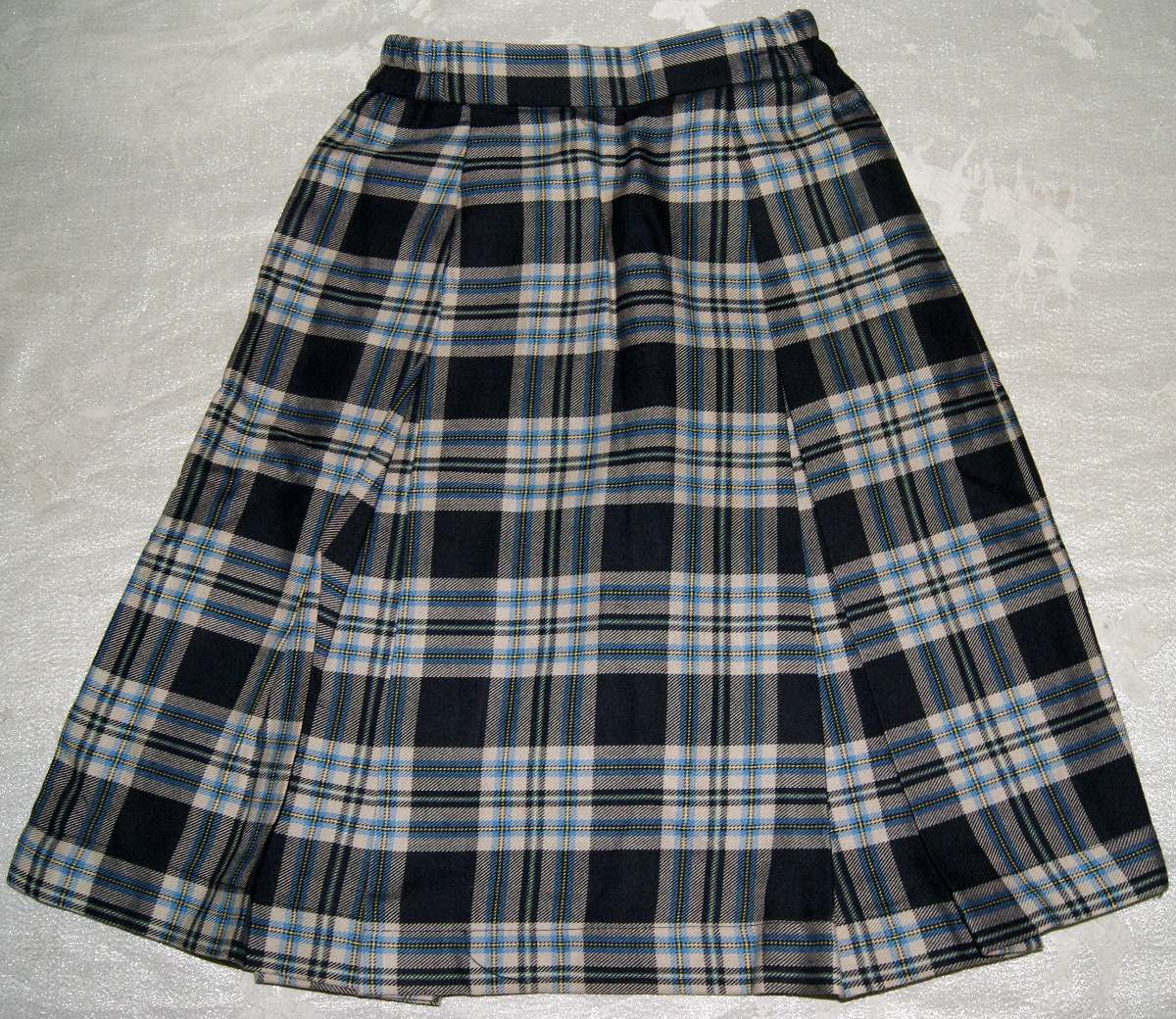 22606a3baa6c4 Falda Tableada Escolar Escocesa Talla 8 Niña Envio Incluido ...