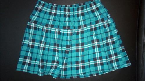 falda talla 10-12 de niña