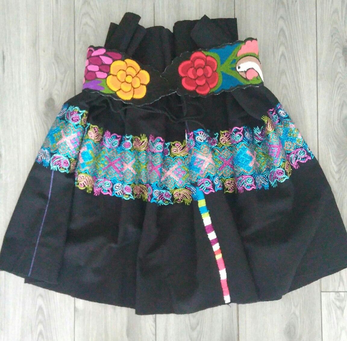 3f3324fdb Falda Textil Chiapaneca De Telar