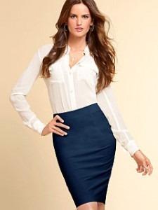 381711cff23 Falda Tipo Tubo Zara Azul Marino - $ 150.00 en Mercado Libre