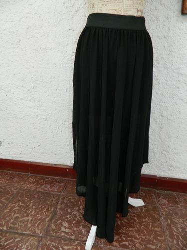 falda transparencia moda