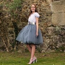 falda tul corta lolita moda vintage tutu sexy ampon gris env
