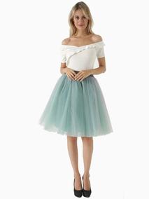92dc57a9a1 Faldas De Tul - Faldas de Mujer al mejor precio en Mercado Libre México