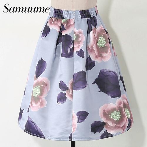 falda verano fresca mujer
