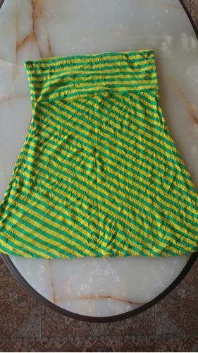 falda vestido top xl