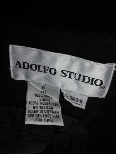 falda vestir terno mujer talla s adolfo studio original moda