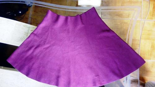 falda vino tinto marca springfield import  consulte precio