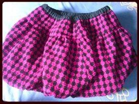 falda zara kids