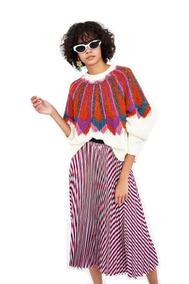 c97f223b5 Falda Plisada Zara - Polleras Tubo de Mujer en Mercado Libre Argentina