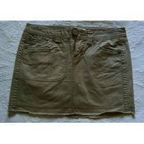 Tommy Hilfiger Jeans Minifalda Beige Talla 5
