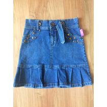 Falda Jeans Niña Talla 10