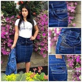 e1d519c1a Faldas Cristianas 3/4 En Jeans