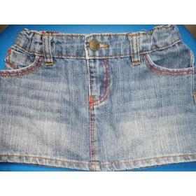 Faldas De Blue Jeans Para Niñas.