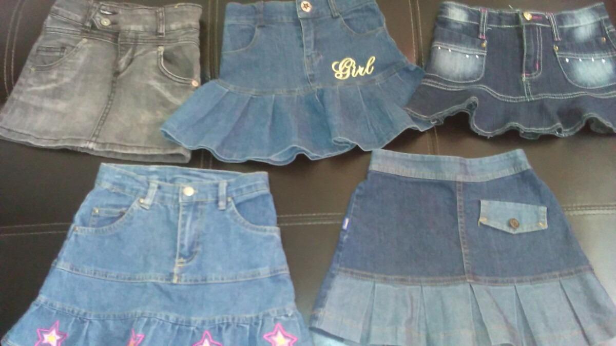 09a2b8405 faldas jeans para ni as