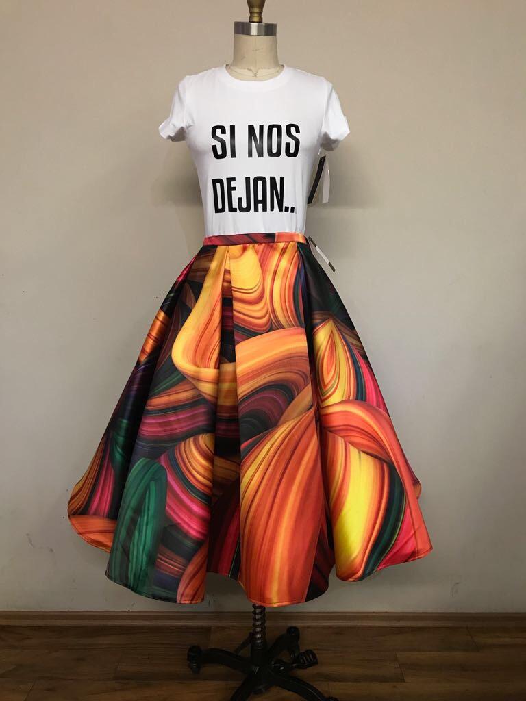 envio GRATIS a todo el mundo disfruta del envío gratis estilo clásico Faldas Elegantes Para Fiesta