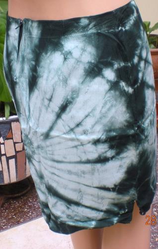 faldas en chalis diseños variados (lote)