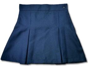 baratas para descuento 1379b cebde Faldas Escolares Azul Plises Tachón Nuevas Talla 4 Cole