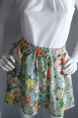 faldas floreadas