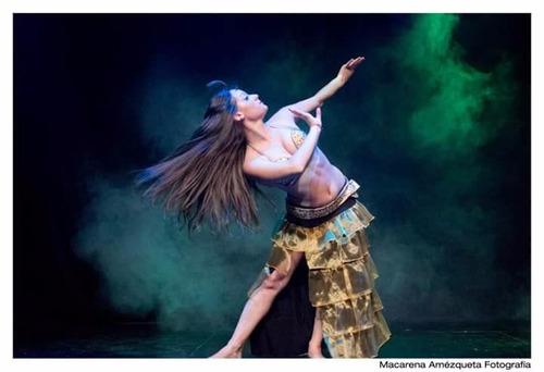 faldas larga volados danza arabe belly dance