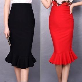a7ffb4605 Faldas Largas Elegantes -   55.000 en Mercado Libre