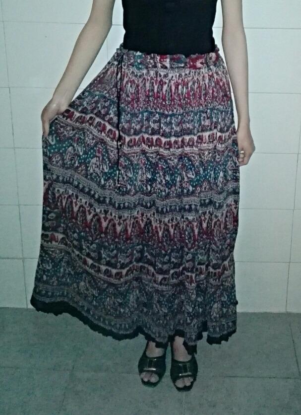 seleccione para oficial comprar baratas envío complementario Faldas Largas Hindú Originales! Oferta!