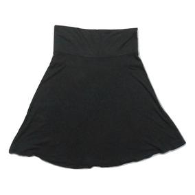 2c9f5c968 Gap Moderna Falda Negra Circular Tela Strech Talla S
