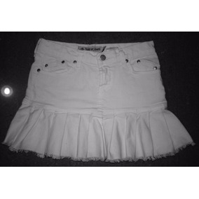 5e51a80ba7 Faldas Pegadas. Distrito Capital · Minifalda Jean Corta Juvenil Color  Blanco Pegada