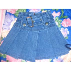 6c847f639 Falda De Jeans Para Niñas Usadas. - Ropa