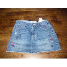 6193ad062 Vendo Mini Falda Epk De Jeans Azul Es Talla 8 A-1.