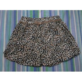 f4c97f0ec Falda Estampado Tigre Epk Talla 8 Usada