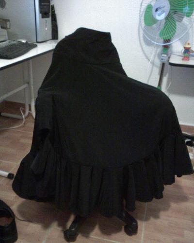 faldas para danza flamenca talla 42-44