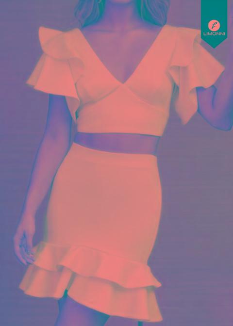 cdbd8cd472 Faldas Para Mujer Limonni Novalee Li1688 Cortos Elegantes ...