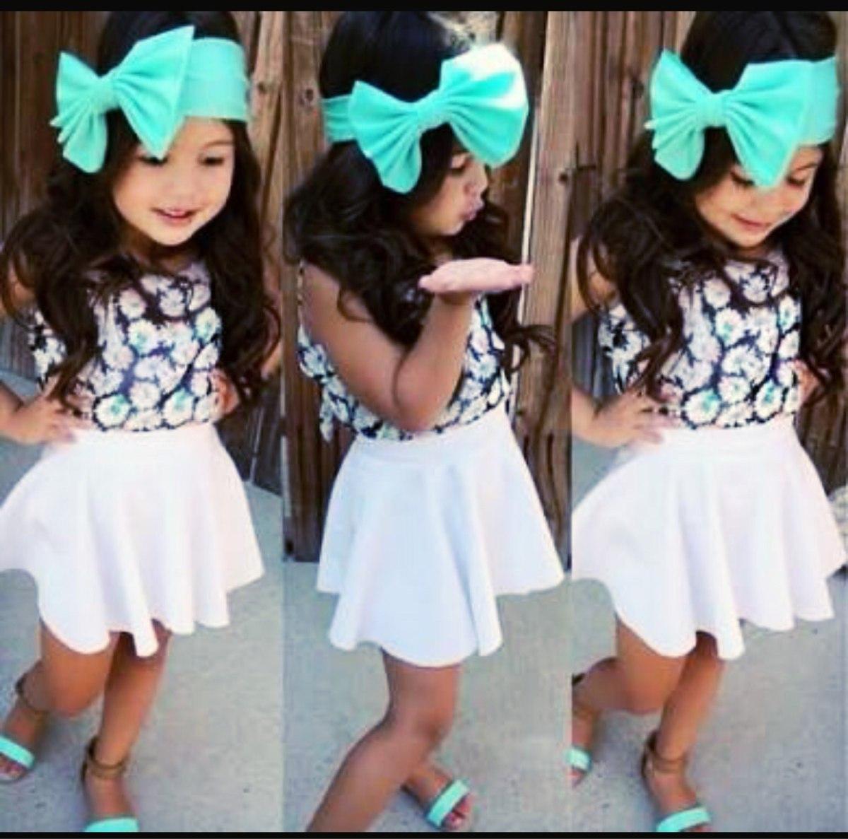 faldas para nias de moda