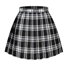 9b50d1886 Faldas Plisadas A Cuadros De Falda Escocesa A Cuadros De Cin