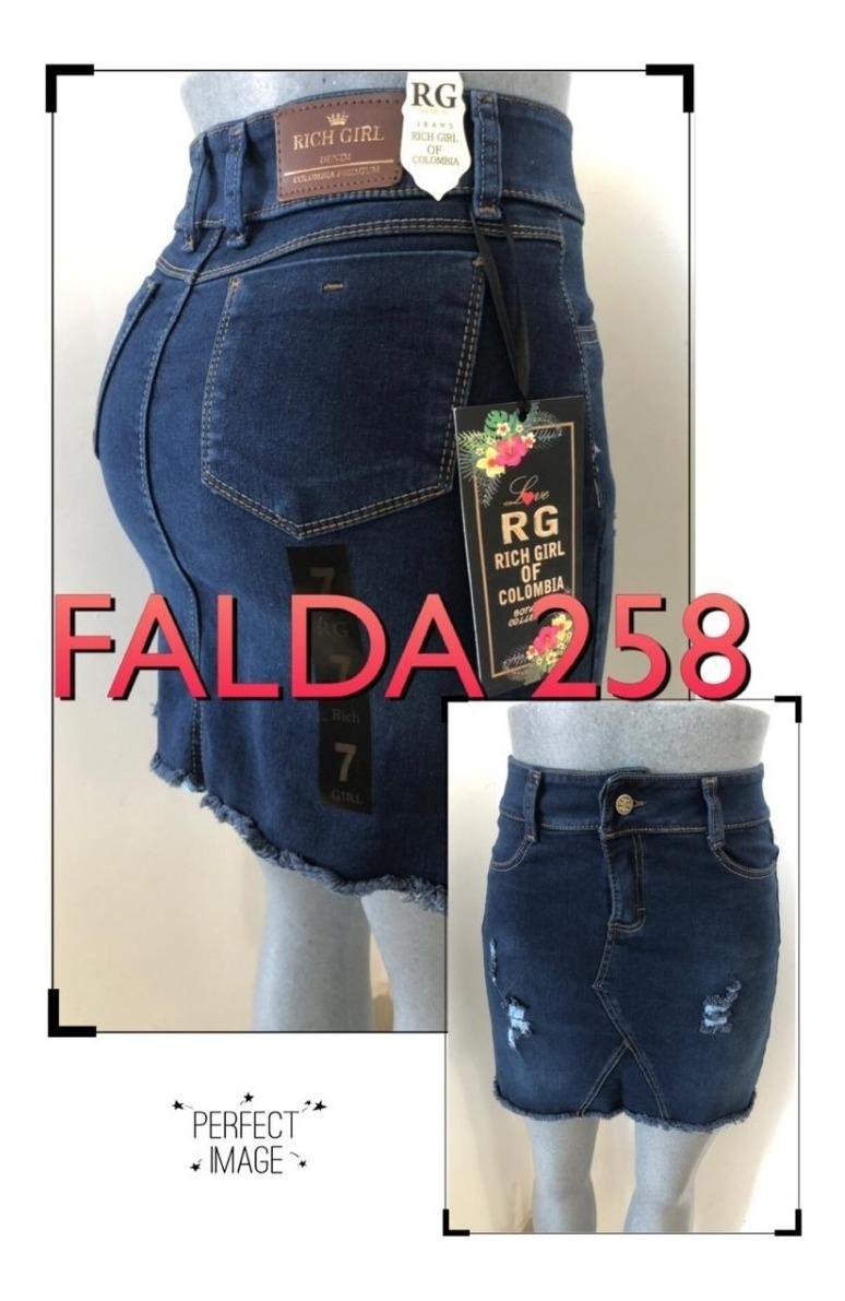 c1d8f1c46 Faldas Rg Jeans (precios De Fabrica)