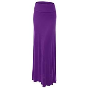 a0763dff2 Faldas Wb670 Maxi Falda Plegable Xl Barney Para Mujer