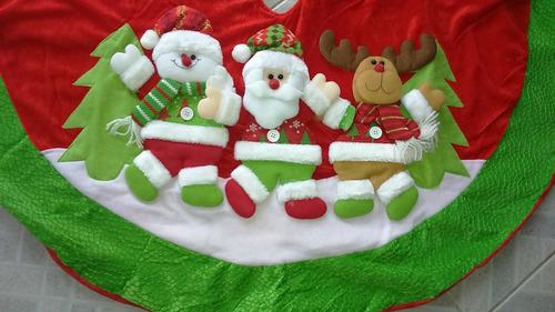 faldon de pie de arbol navidad
