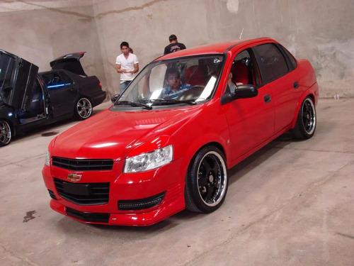 faldon delantero chevy c3 2009-2012