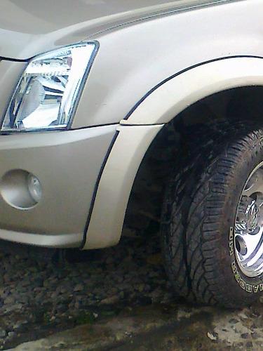 faldones y molduras para todo tipo de camionetas.