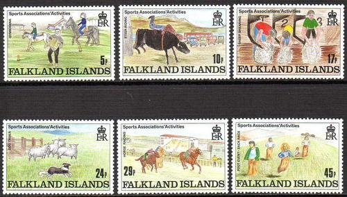 falkland is./ malvinas 1989 - associações esportivas (6)