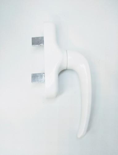 falleba para ventanas de aluminio h 48 . blanco o negro