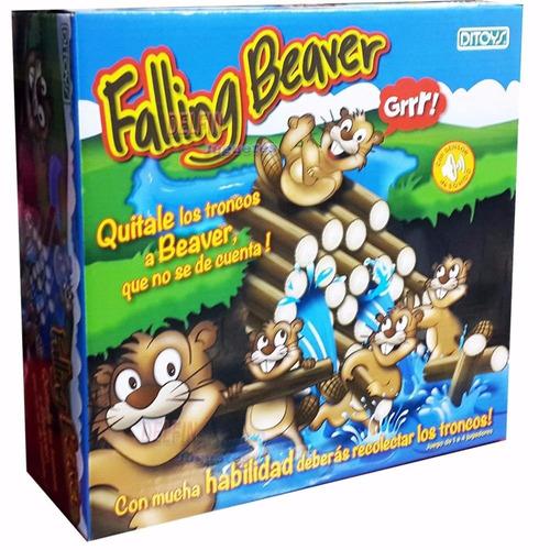 falling beaver juguetería marruecos rosario